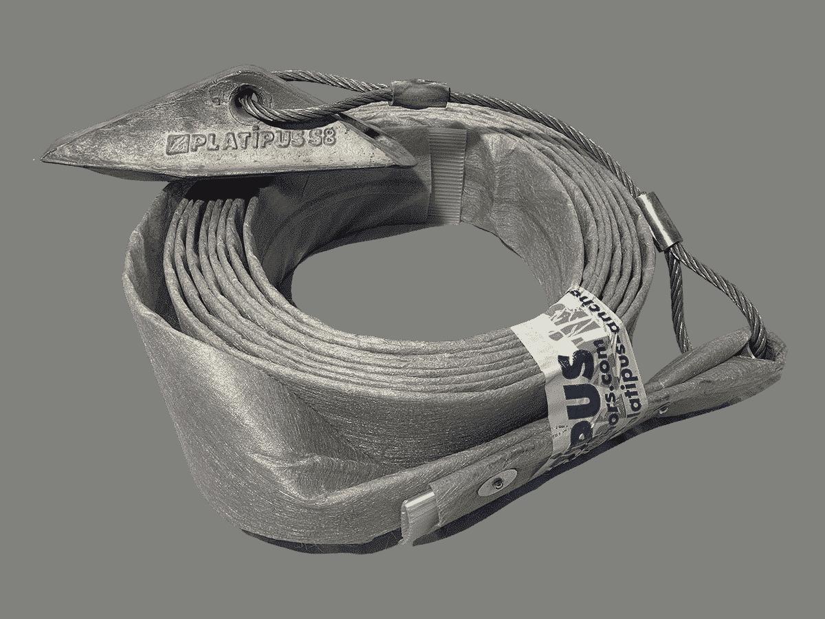 Type d'ancrage utilisé par Anteq SA - Aqua T