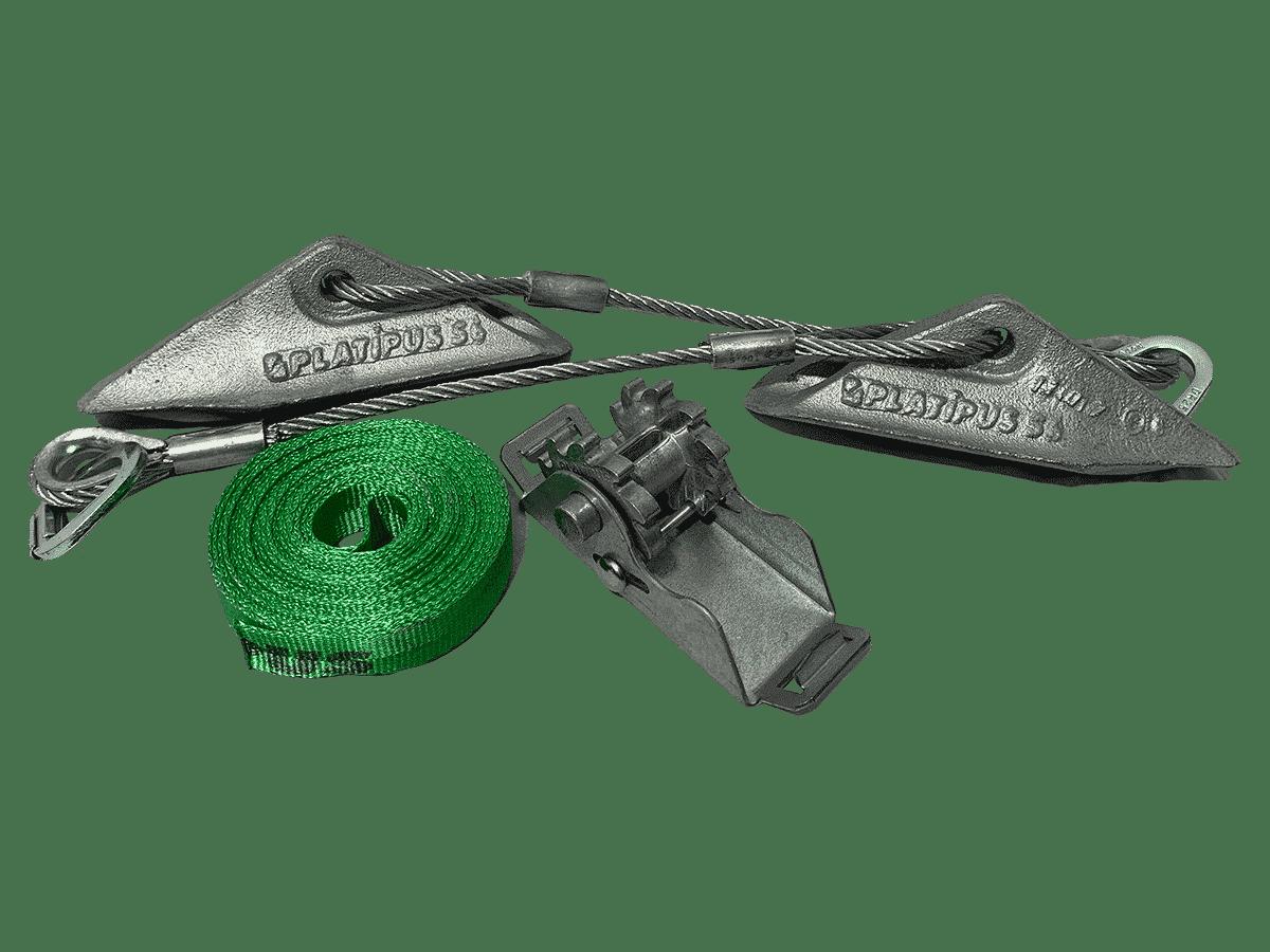 Type d'ancrage utilisé par Anteq SA - Archimede T