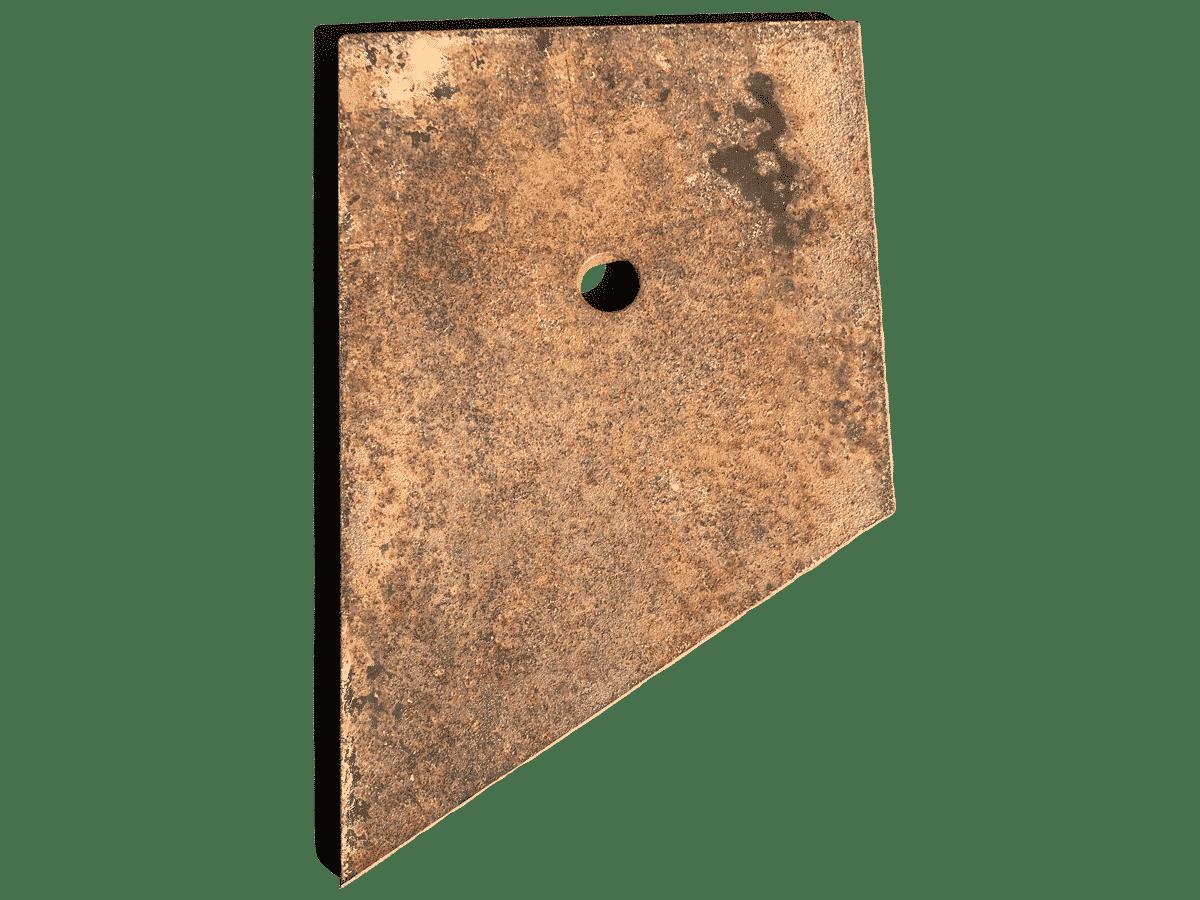 Type de plaque d'ancrage utilisée par Anteq SA - Imago